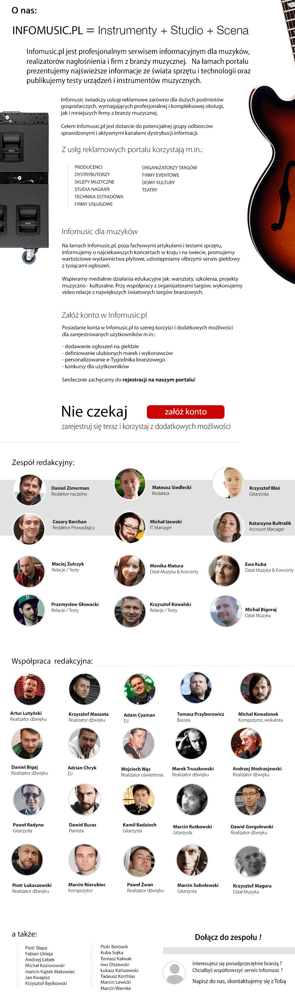zespół redakcyjny Infomusic.pl
