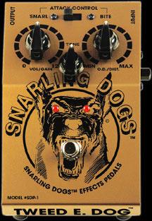Przestery wah wah do gitar firmy snarling dogs