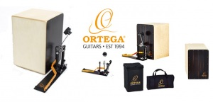 Ortega: zestaw Stomp Box Cajon Bundle z linii Hands Free