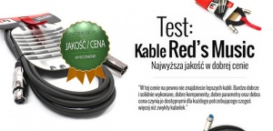 Test kabli mikrofonowych Red's Music