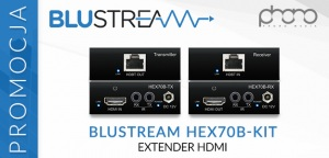 Phono Media: Promocja na Blustream HEX70B-KIT - Extender HDMI