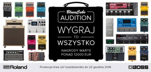 Roland Blues Cube Audition - Nagrody warte 50.000 zł!