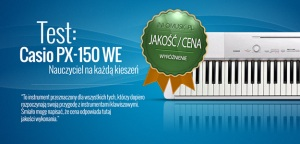 Test pianina cyfrowego Casio PX-150 WE w Infomusic.pl