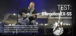 TEST: Gitara Semi-Hollow D'Angelico EX-SS