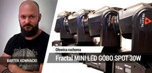 TEST: Fractal MINI LED GOBO SPOT 30W