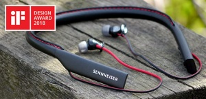 Sennheiser Momentum In-Ear Wireless z nagrodą iF Design Award