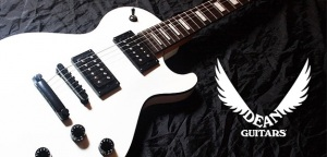 Dean Thoroughbred X Classic White - Budżetowy Les Paul
