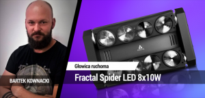 TEST: Fractal Spider LED 8x10W