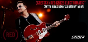 Gretsch: Nowa sygnatura Bono -  G5623 Electromatic Center-Block (RED)