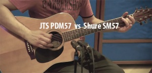 TEST SHURE SM 57 vs JTS PDM 57