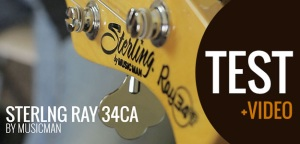 Test gitary basowej Sterling Ray 34 CA (CLASSIC ACTIVE)