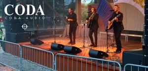 CODA Audio ViRAY i Cadac CDC six na Dniach Mrągowa 2017