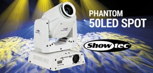 Showtec Phantom 50 LED Spot dostępny w ofercie Pro Lighting