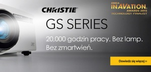 Seria projektorów Christie GS zwycięzcą inAVation Awards 2015