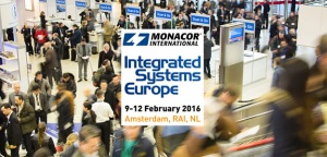 Monacor zaprasza na targi Integrated Systems Europe 2016