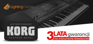 Lighting Center autoryzowanym partnerem marki KORG
