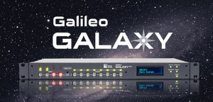 Meyer Sound Galilego GALAXY z certyfikatem Milan z Avnu Alliance
