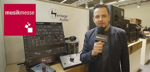 MESSE'18: Systemy kontroli odsłuchu od Heritage Audio [VIDEO]