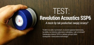 Test wzbudnika audio Revolution Acoustics SSP6 w Infomusic.pl