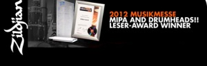MESSE2012: ZILDJIAN - THE WINNER!