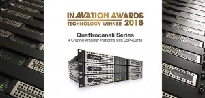 Powersoft Quattrocanali z nagrodą InAVationAwards2018