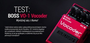TEST: BOSS VO-1 Vocoder