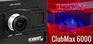 Test: laser Kvant ClubMax 6000 - do klubów i na eventy