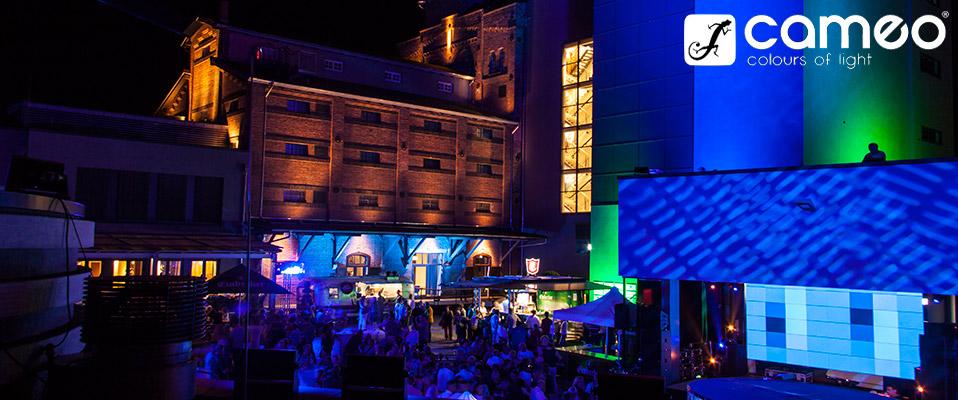 Oświetlenie Cameo Zenit Na Rocznicy Muzeum Psspeicher W