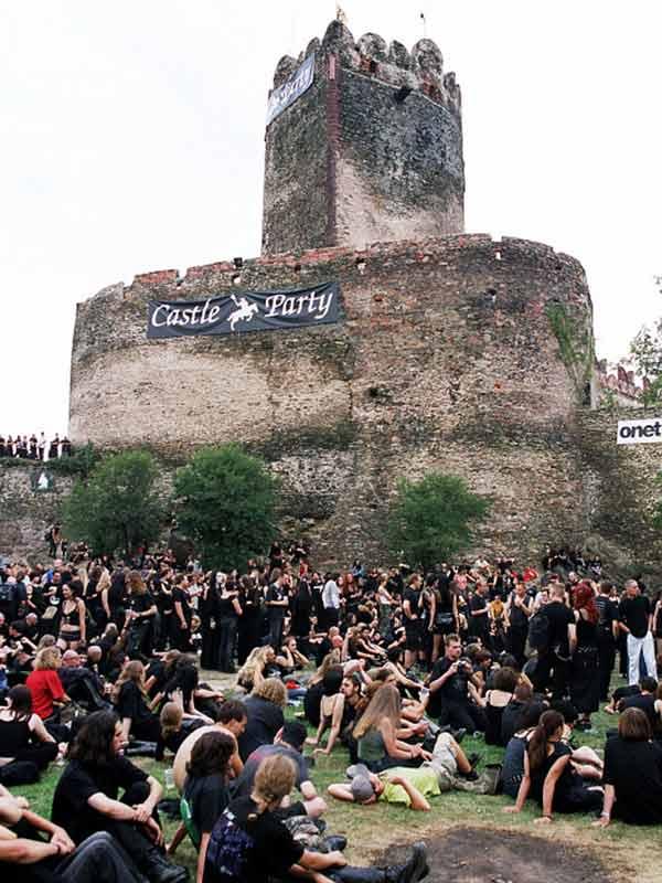 Lacrimosa, castle party замок