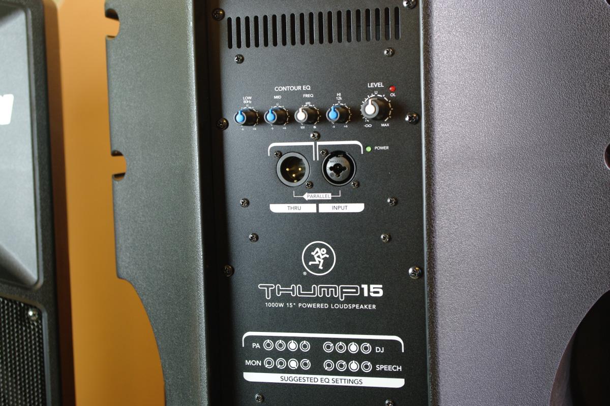 Mackie Srm450 I Thump15 Test Aktywnych Kolumn Loudspeaker Thump Eliminator