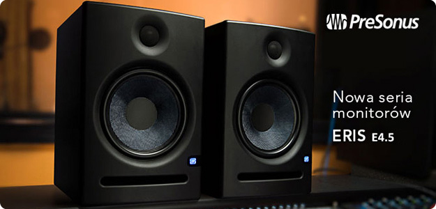 eris e4 5 rodzina monitor w studyjnych presonus ro nie w si infomusic pl. Black Bedroom Furniture Sets. Home Design Ideas