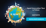 Konsbud Audio zaprasza na Apart Innovation Tour 2019