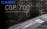 Kompaktowe Grand Piano Casio CGP-700
