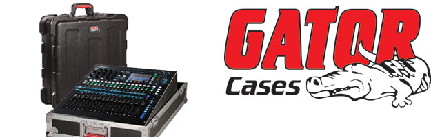 Allen&Heath Qu-16 chronione case'm od GATOR CASES