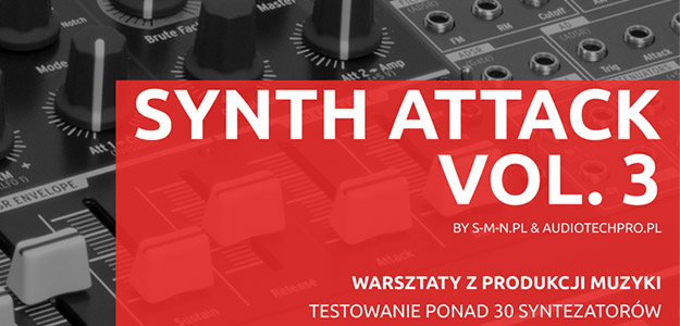 Synth Attack vol. 3 wraca do miast!