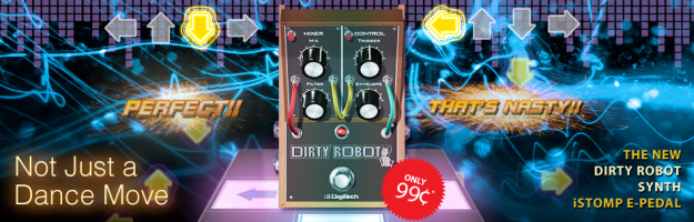 Dirty Robot na iStomp