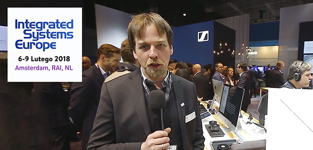 ISE'18: Sennheiser TeamConnect Ceiling - Innowacja w suficie