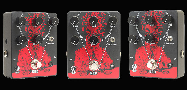"NAMM2017: Nadchodzi ""RED"" - High gain od Warlus Audio"