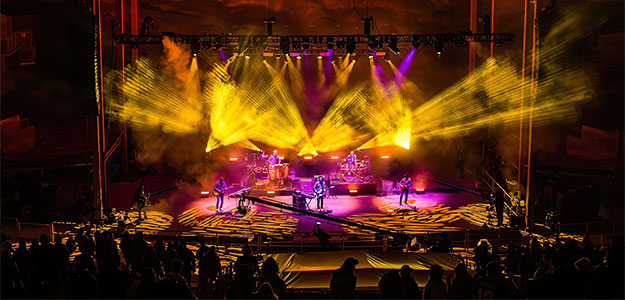 Brown Note stawia na Elation podczas Red Rocks Shows
