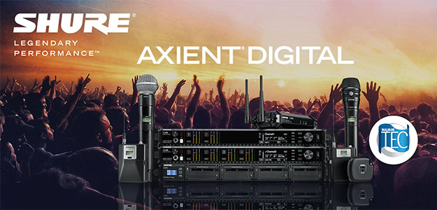 Oscar goes to... Shure Axient Digital