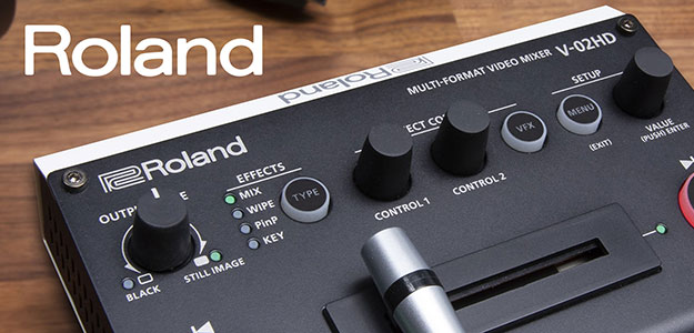 Roland prezentuje multiformatowy mikser video V-02HD