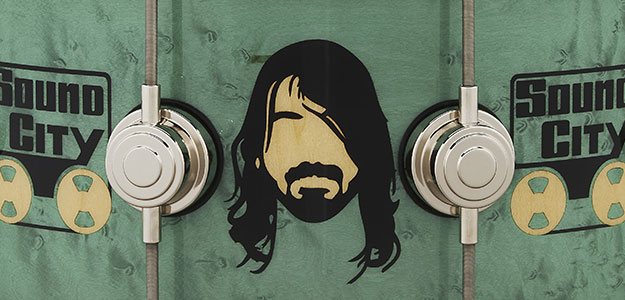 Nowy werbel od firmy DW - Dave Grohl Icon Snare Drum