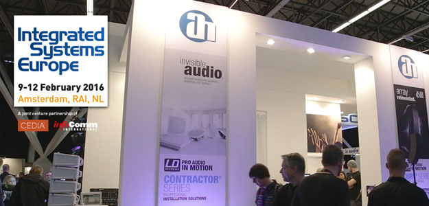 LD Systems & Cameo - Marki Adam Hall na targach ISE 2016 [Video]