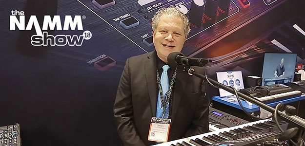 NAMM'18: Kurzweil prezentuje SP1 i SP6 [VIDEO]