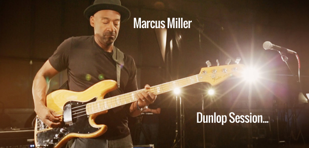 Dunlop Sessions: Marcus Miller w akcji...