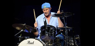 Chad Smith z Red Hot Chili Peppers na Abu Dhabi Showdown Week