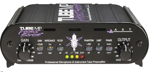 TUBE MP Project Series - lampowy preamp instrumentalny