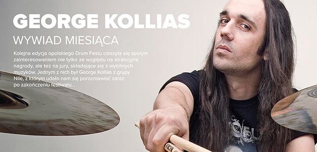 WYWIAD: George Kollias o Drum Fest 2017 [VIDEO]