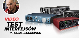 Test interfejsów audio Behringer, Focusrite, PreSonus & Tascam