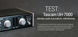 Test interfejsu audio Tascam UH-7000